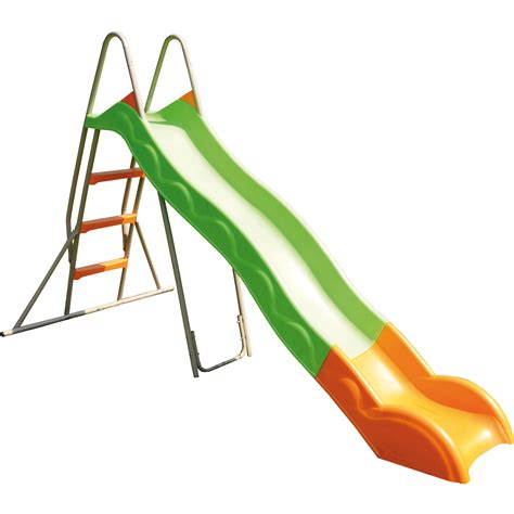 Kids Garden Slide   Chute with Plastic Slip   2.63 m