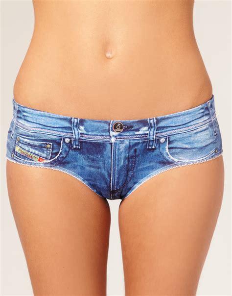 denim printed underwear celebrities in designer jeans