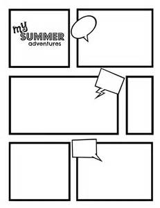 comic templates comic template best template collection