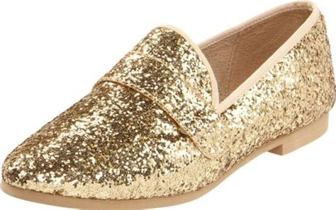 steve madden gold loafers steve madden womens eltonn loafer in gold gold glitter