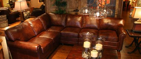 rustic brown leather sectional rustic leather sectional interesting reclining sectionals