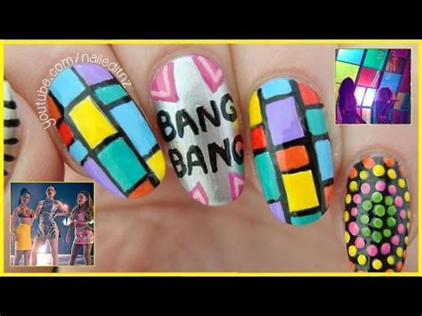 jessie nail art tutorial videa uživatele ariana art beatzone cz