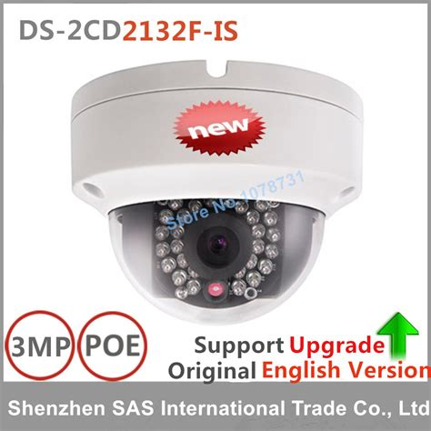 hikvision original ip ds 2cd2132f is 3mp ip dome poe cameras audio support