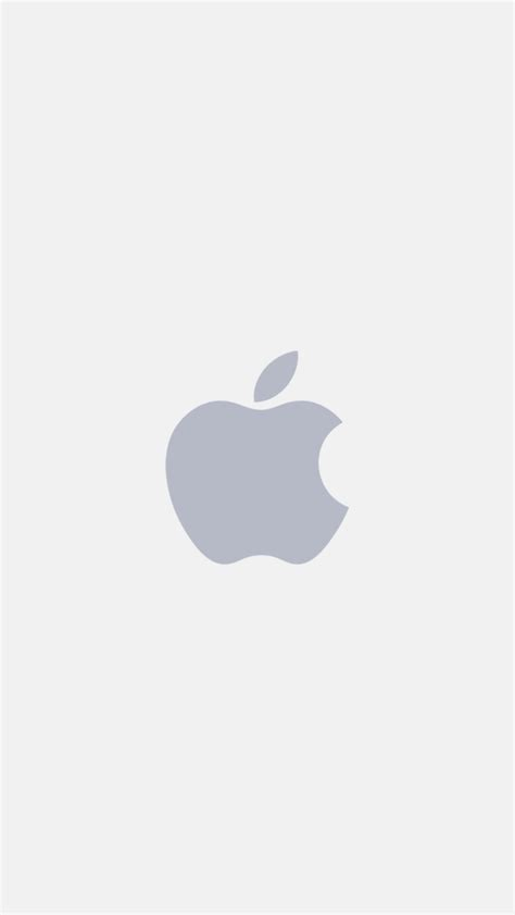 clean slate white apple logo iphone  wallpaper hd