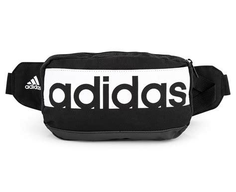 Waist Pack Adidas Black Greenlight adidas linear performance waist bag black ebay