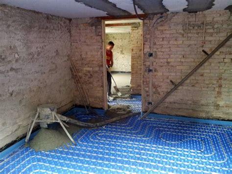 preventivo impianto riscaldamento a pavimento foto impianto riscaldamento a pavimento di costruzioni