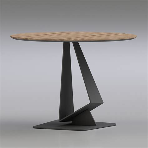 table chaise bistrot 3d cattelan bistrot roger table high quality 3d models