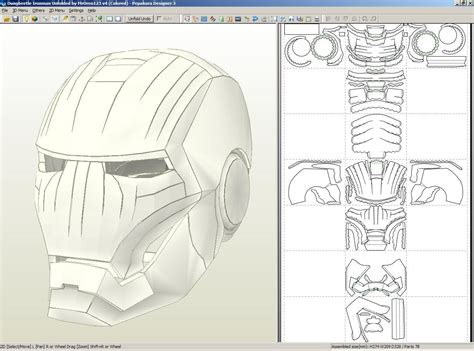 Iron Mask Papercraft - image gallery iron helmet template