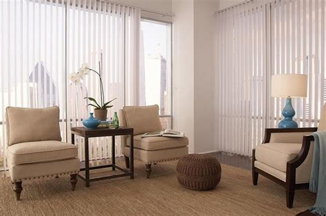 Vertical Blinds For Living Room Window by White Vertical Blinds Lafayette Discoveries Living Room