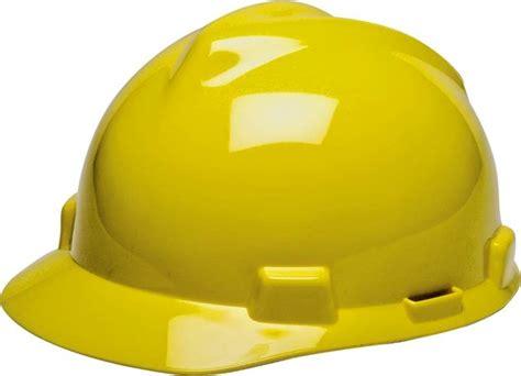 Safety Helmet Msa V Gard Fastrack Original Yellow Helm Keamanan msa v gard gv121 safety helmet original hdpe hat staz