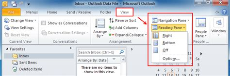 word reading layout turn off microsoft office excel previewer outlook 2010 preview