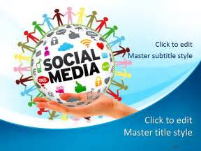social media powerpoint template free free social media ppt template