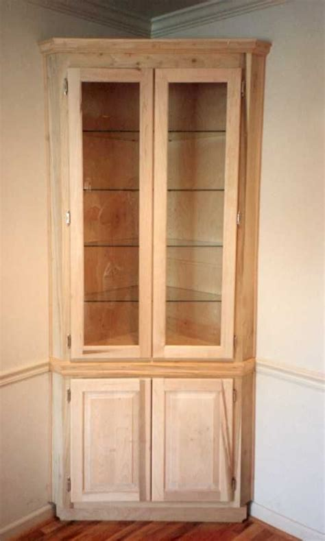 built in corner cabinet built in corner cabinet with glass shelves furniture