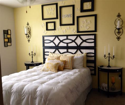 yellow bedroom walls black white bedroom pale yellow accent wall minus