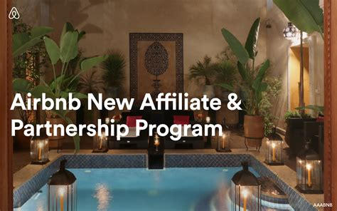 airbnb news airbnb has a new affiliate partnership program