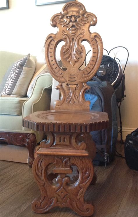 carved wood chair antique carved wood chair my antique furniture collection