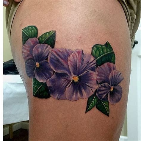 violet flower tattoo the 25 best violet flower tattoos ideas on