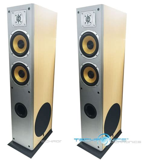 audio video tower cabinet pair digital audio 700w wood cabinet 3 way floor standing