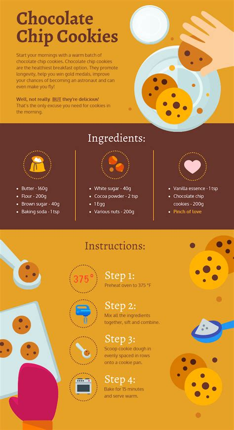 30 Food Infographics To Share With Your Foodie Friends Venngage Drawing Infographic Template