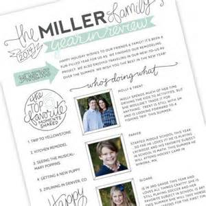 family newsletter template family newsletter template by schultz designs
