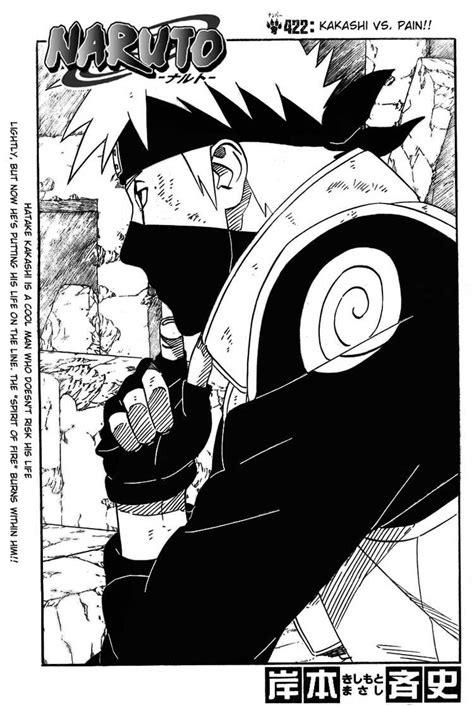 film naruto kakashi vs pain naruto manga 422 kakashi vs pain uzumaki naruto s blog