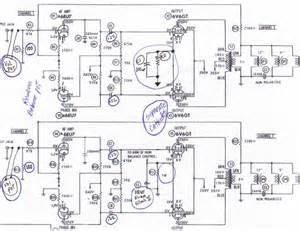 magnavox 6v6 amplifier schematic wiring diagram website