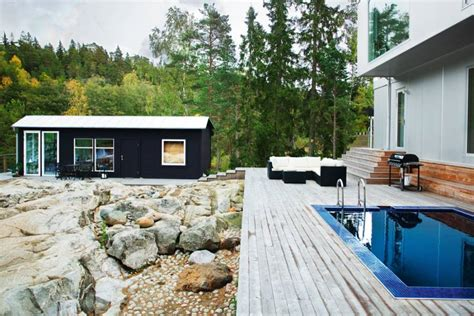 scandinavian villa with green view jelanie