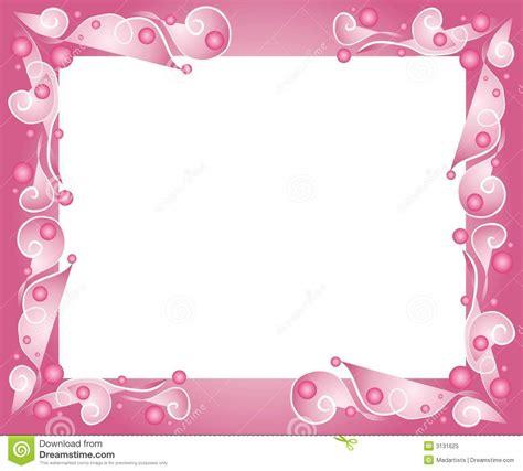 Decorative Pink Frame Border Stock Illustration   Image: 3131625