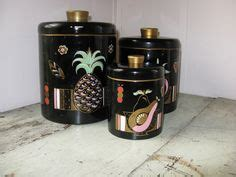 vintage copper kitchen canister set kitsch please rare turquoise ransburg tin kitchen canisters mid