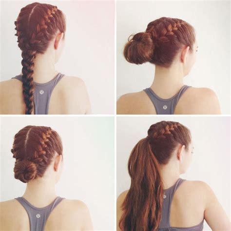 10 gym hairdos that go far beyond the treadmill brit co