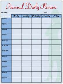 Daily Sales Planner Template by Day Planner Template