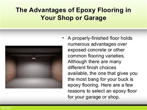the advantages of using garage epoxy flooring advantages carpet review