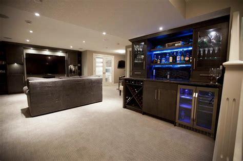 modern basements zebedee home renovation contemporary basement