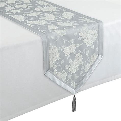 90 inch table runner waterford 174 linens hydrangea 16 inch x 90 inch table runner
