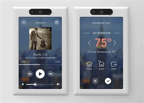 2017 smart home new smart home control panel unveiled by brilliant for