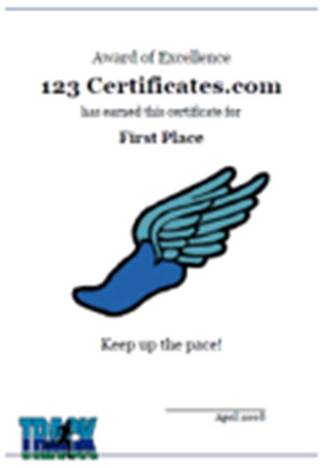 track and field certificate templates free free printable track and field certificates and awards