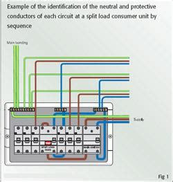 split load consumer unit wiring diagram split free