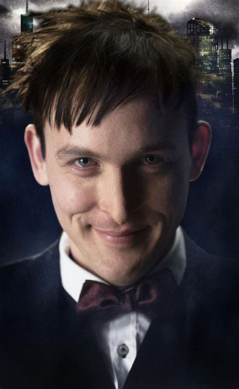 oswald cobblepot haircut fox reveals gotham penguin image does he look too much