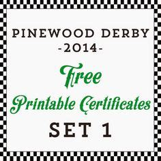 pinewood derby certificate templates cub scout tips tricks and ideas on pinewood