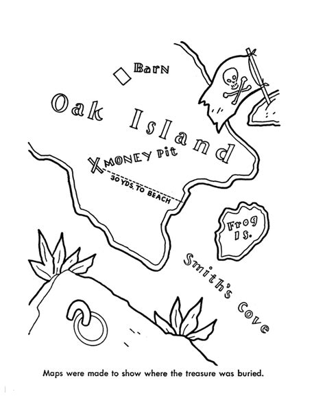 Pirate Treasure Map Coloring Pages Coloring Home Pirate Treasure Map Coloring Page Coloring Home