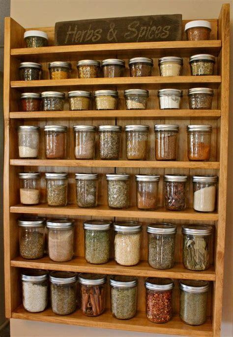 reddit diy spice rack solid wood spice racks spice racks jars by newrusticrevival 105 00 selfmade