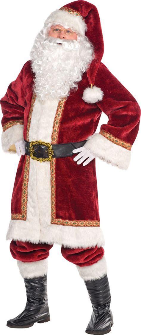 103 best santa claus suits images on pinterest papa noel