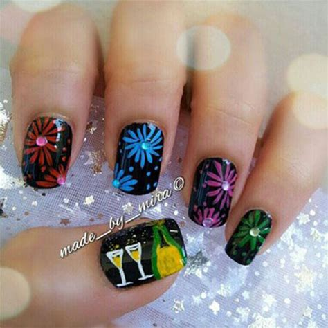 new year nail stickers happy new year nail designs