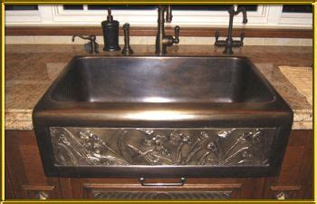 copper farmhouse sink clearance farmhouse kitchen sink