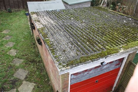 replace asbestos garage roof roofing in basingstoke