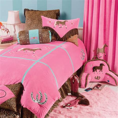 girl horse bedding rod s cowboy and cowgirl bedding sets
