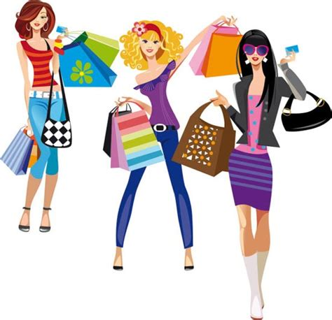 Fashion Shopping 51 N fashion at shopping vectors