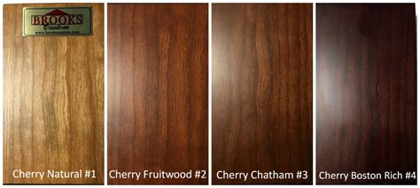 cherry wood color wood color options custom