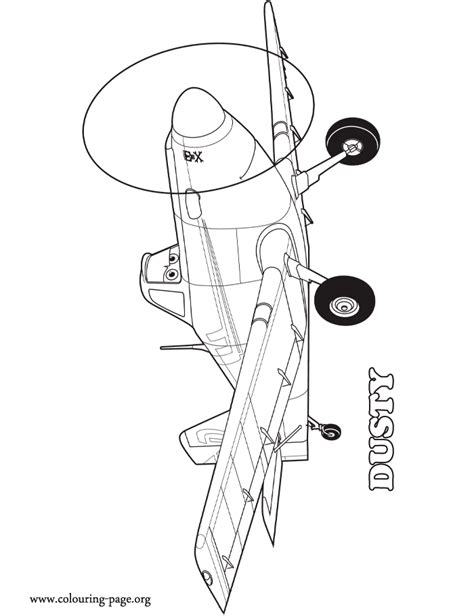 coloring pages disney planes free dusty crophopper coloring pages