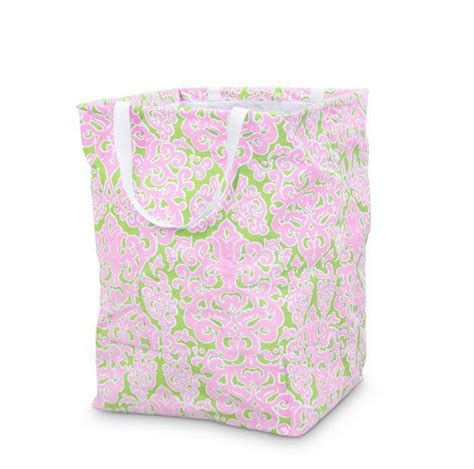 Monogrammed Large Yellow Bee Line Laundry Bag Her Or Monogrammed Laundry